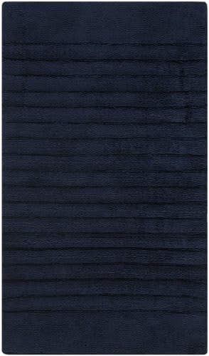 Safavieh Plush Master Bath PMB625B Navy / Navy Area Rug