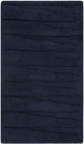 Safavieh Plush Master Bath PMB629B Navy / Navy Area Rug