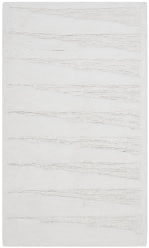 Safavieh Plush Master Bath PMB629W White / White Area Rug