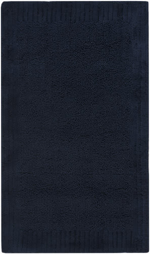 Safavieh Plush Master Bath PMB633B Navy / Navy Area Rug