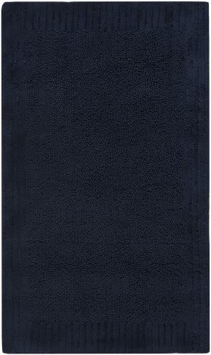Safavieh Plush Master Bath PMB633B Navy / Navy Area Rug