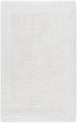 Safavieh Plush Master Bath PMB633W White / White Area Rug