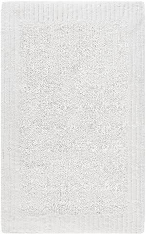 Safavieh Plush Master Bath PMB633W White / White Area Rug