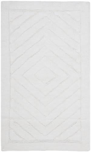 Safavieh Plush Master Bath PMB635W White / White Area Rug