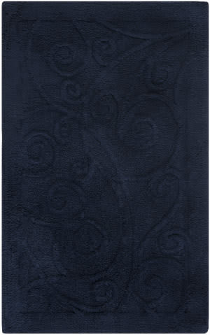 Safavieh Plush Master Bath PMB637B Navy / Navy Area Rug