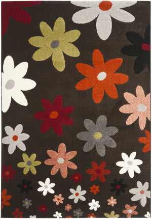Safavieh Porcello Prl3703c Brown / Multi Area Rug