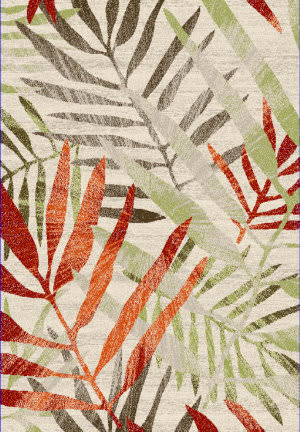 Safavieh Porcello Prl4818c Ivory / Green Area Rug