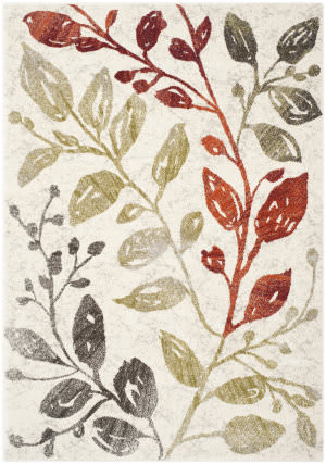 Safavieh Porcello Prl4824c Ivory / Green Area Rug