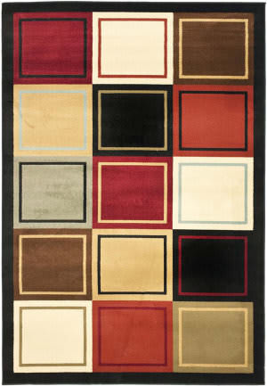 Safavieh Porcello Prl6863 Multi Area Rug