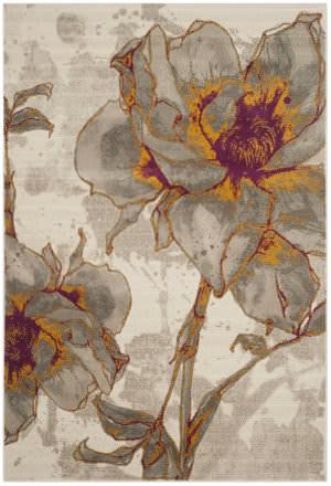 Safavieh Porcello Prl7733e Ivory - Grey Area Rug