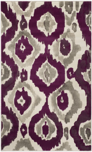 Safavieh Porcello Prl7736 Ivory - Purple Area Rug