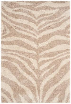 Safavieh Portofino Shag Pts215b Ivory - Beige Area Rug