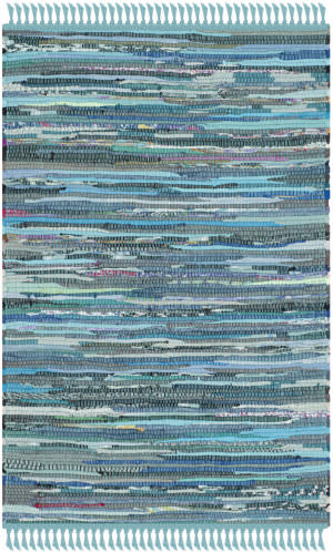 Safavieh Rag Rug Rar121b Blue / Multi Area Rug
