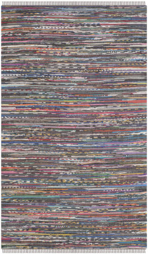 Safavieh Rag Rug Rar121e Rust / Multi Area Rug