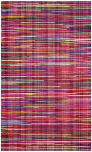 Safavieh Rag Rug Rar240d Red - Multi Area Rug