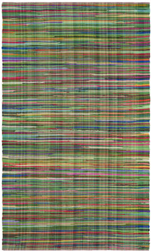 Safavieh Rag Rug Rar240e Green - Multi Area Rug