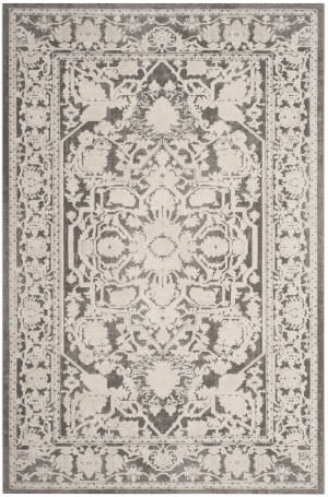 Safavieh Reflection Rft665b Dark Grey - Cream Area Rug