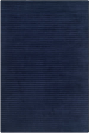 Ralph Lauren Hand Knotted Rlr4153b Navy Blue Area Rug