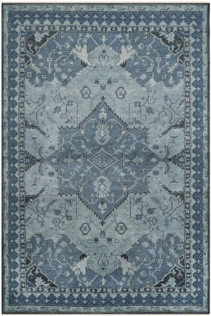 Ralph Lauren Hand Knotted Rlr6935c Ink Area Rug