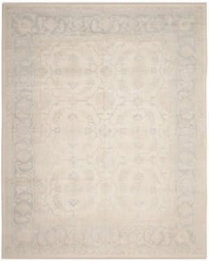 Ralph Lauren Hand Knotted Rlr7052a Argent Area Rug