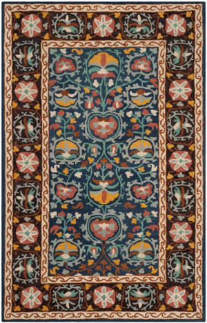 Safavieh Roslyn Ros545a Blue - Multi Area Rug