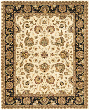 Safavieh Royalty Roy219a Beige - Black Area Rug