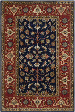 Safavieh Royalty Roy257a Navy - Rust Area Rug