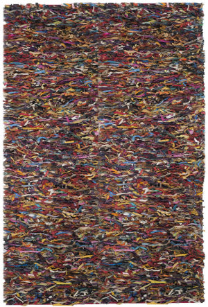 Safavieh Leather Shag LSG511M Multi Area Rug