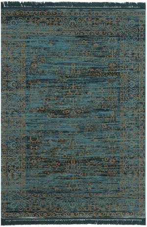 Safavieh Serenity Ser214c Turquoise - Gold Area Rug