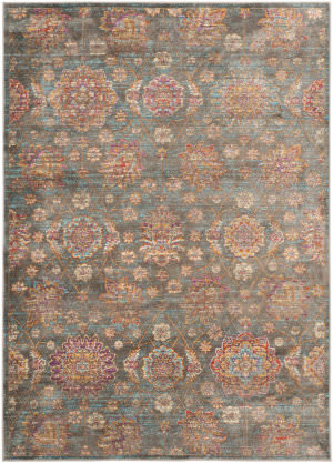 Safavieh Sevilla Sev814g Grey - Multi Area Rug