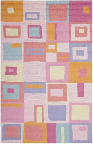 Safavieh Kids SFK317A Pink / Multi Area Rug
