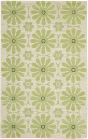 Safavieh Kids SFK319A Beige / Green Area Rug