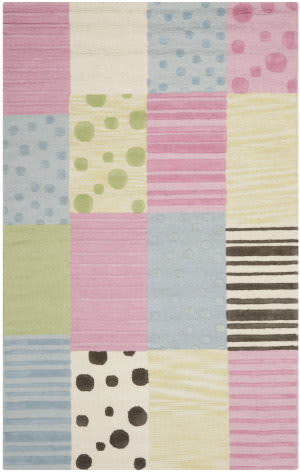 Safavieh Kids SFK322A Blue / Pink Area Rug