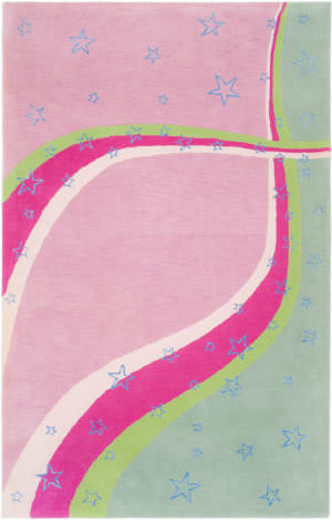 Safavieh Kids Sfk338a Green / Pink Area Rug