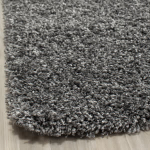 Safavieh California Shag Sg151-8484 Dark Grey Area Rug