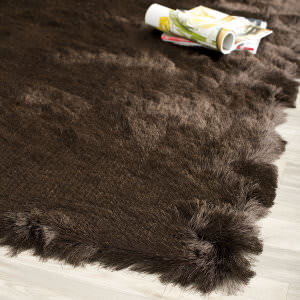 Safavieh Paris Shag Sg511-2727 Chocolate Area Rug