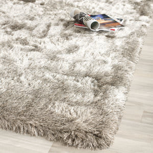 Safavieh Paris Shag Sg511-9292 Sable Area Rug