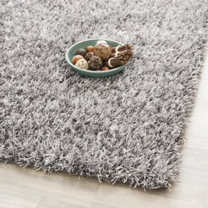 Safavieh Paris Shag Sg531-8080 Grey Area Rug