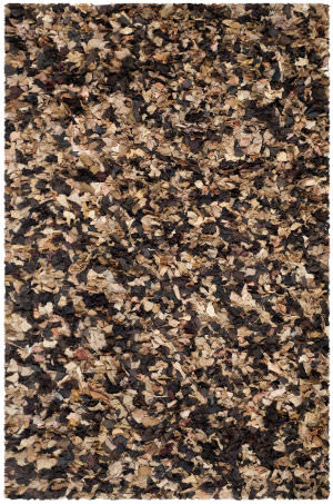 Safavieh Shag Sg951b Brown - Multi Area Rug