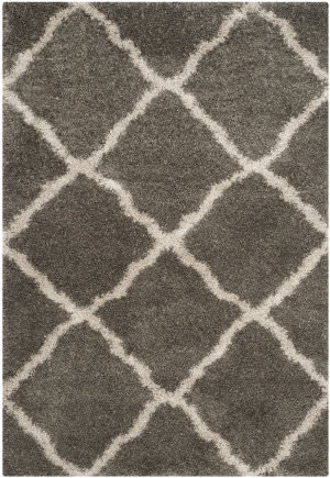 Safavieh Belize Shag Sgb489g Grey - Taupe Area Rug