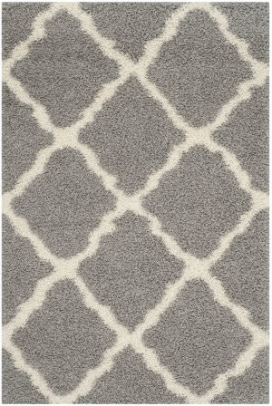 Safavieh Dallas Shag Sgd257g Grey - Ivory Area Rug