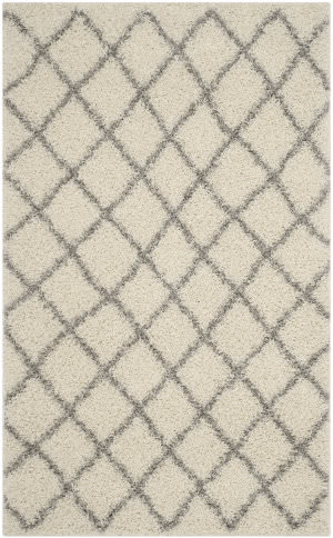 Safavieh Dallas Shag Sgd258f Ivory - Grey Area Rug