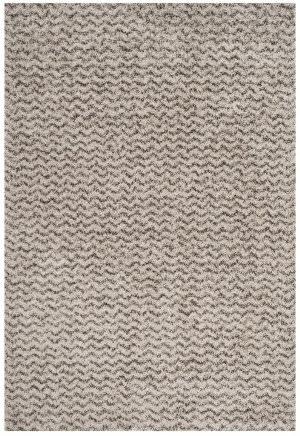 Safavieh Hudson Shag Sgh330a Ivory - Grey Area Rug