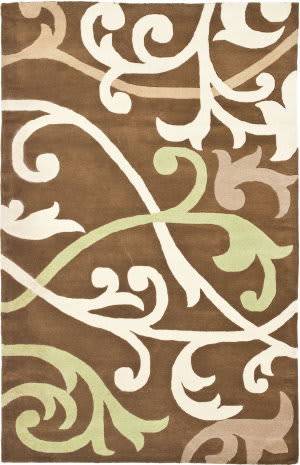 Safavieh Soho Soh256a Brown / Multi Area Rug