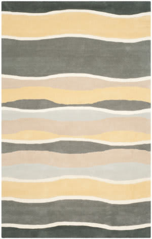 Safavieh Soho Soh337a Grey - Gold Area Rug