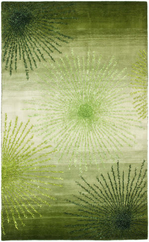 Safavieh Soho Soh712g Green / Multi Area Rug