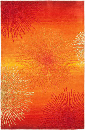 Safavieh Soho Soh712r Rust / Multi Area Rug