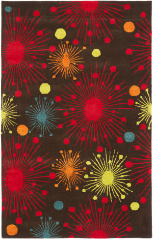Safavieh Soho Soh747b Brown / Multi Area Rug