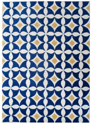 Safavieh Soho Soh750a Ivory - Blue Area Rug