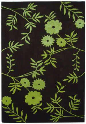 Safavieh Soho Soh774a Brown / Green Area Rug